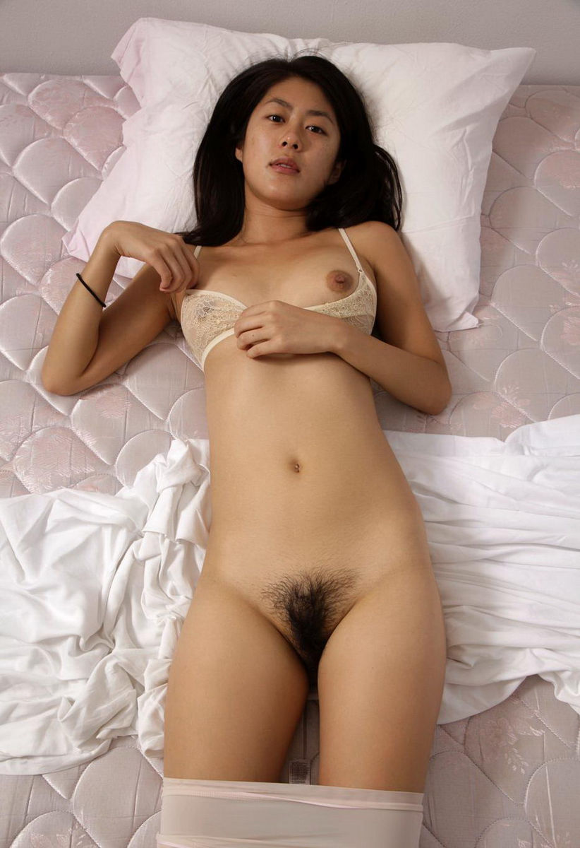 Unshaved asian pussy, hot blue girl big breasts