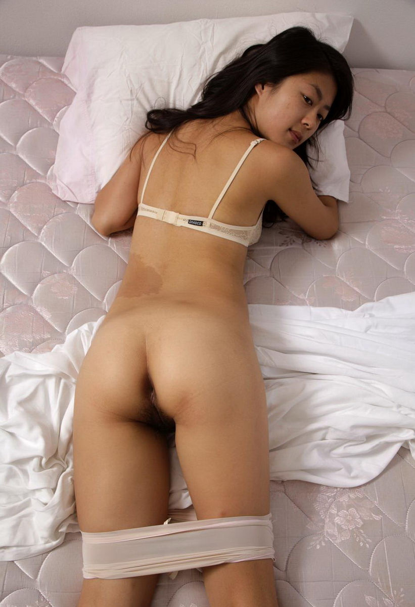 Ass nude back asia