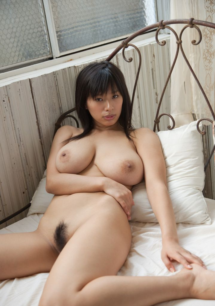 Chinese Milf With Very Big Boobs Posing In White Room S