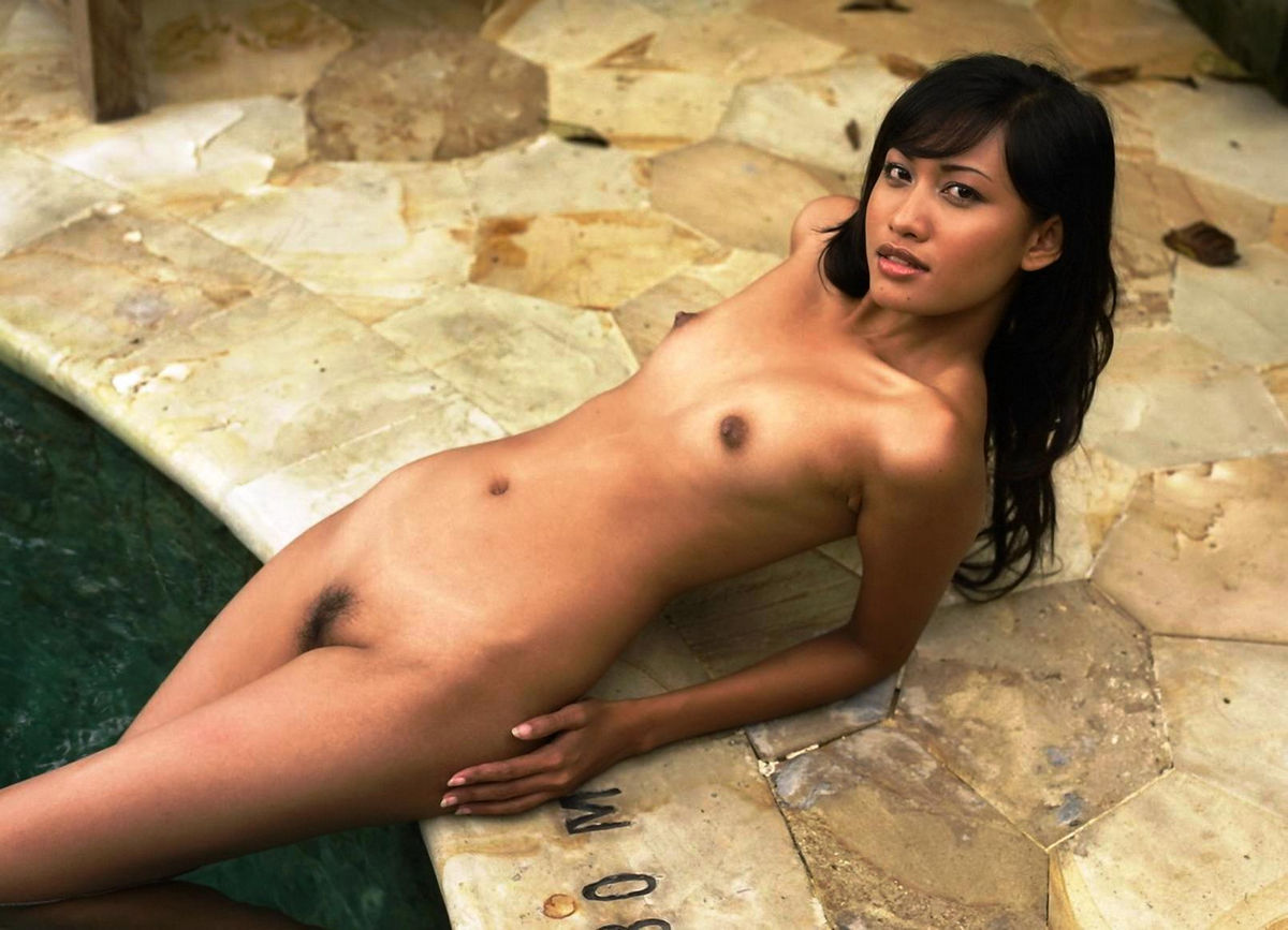 Thai chested no tits asian flat