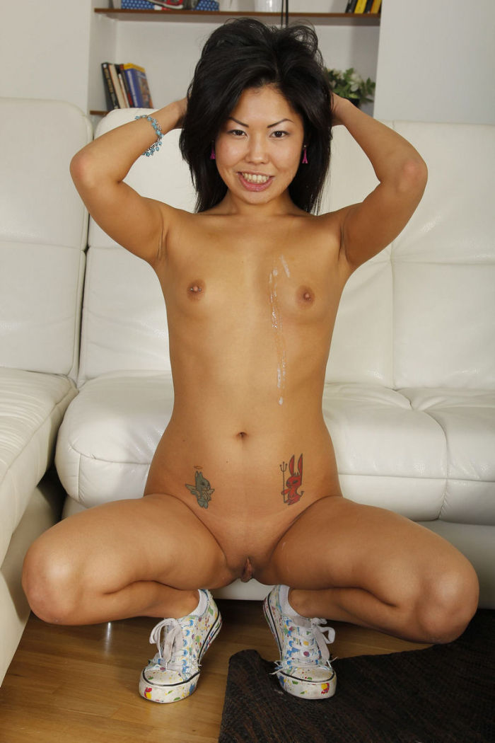 Cute asian tits