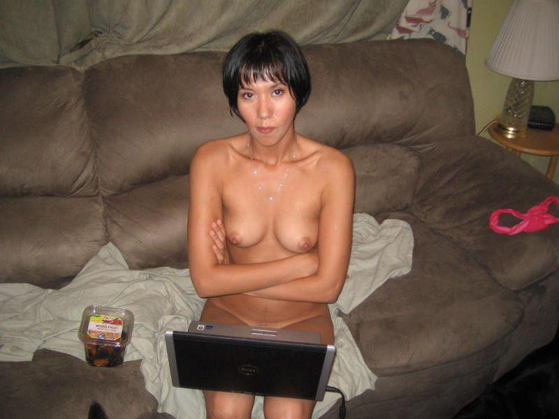 Amateur Short Hair Blonde Teen
