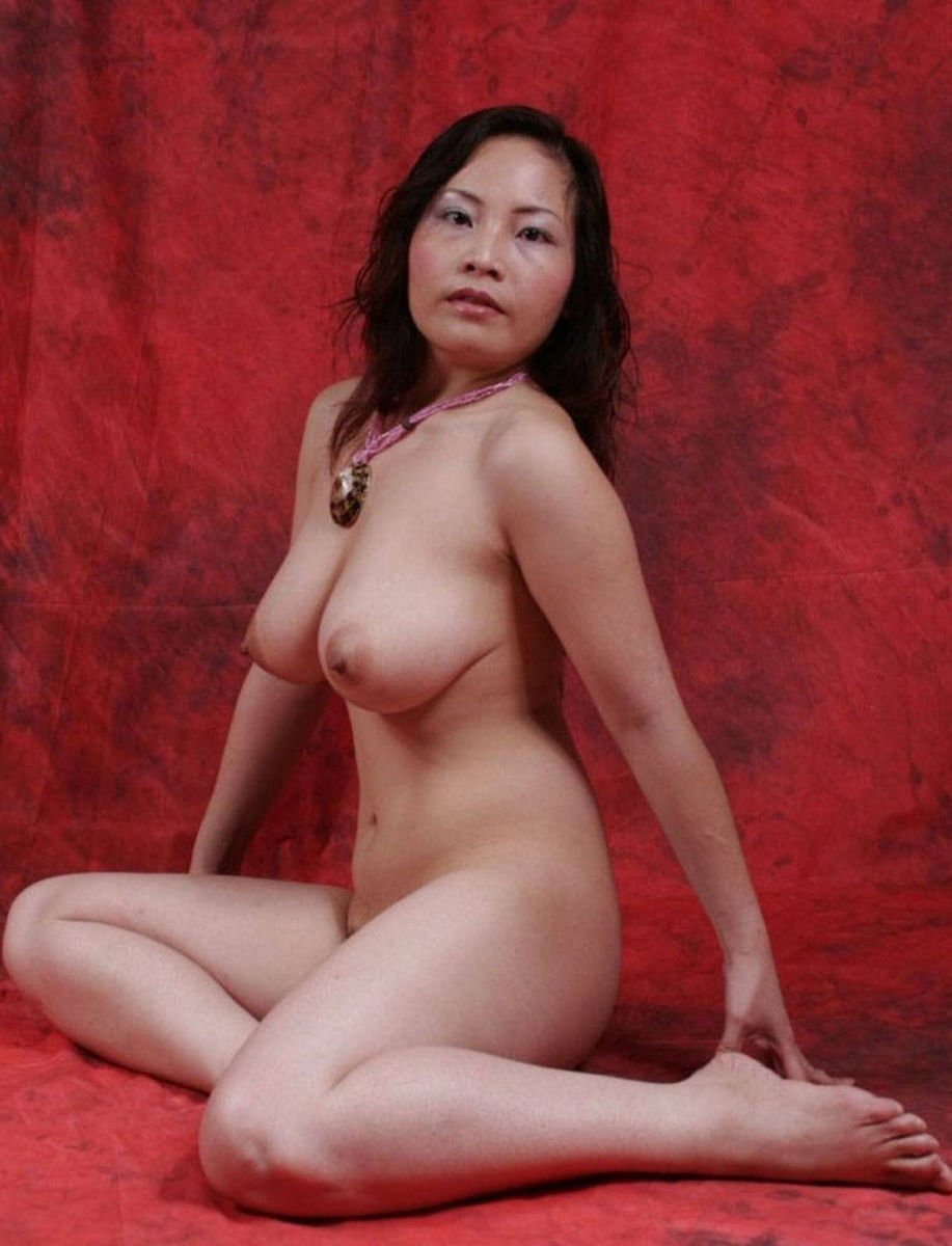 Asian busty mature