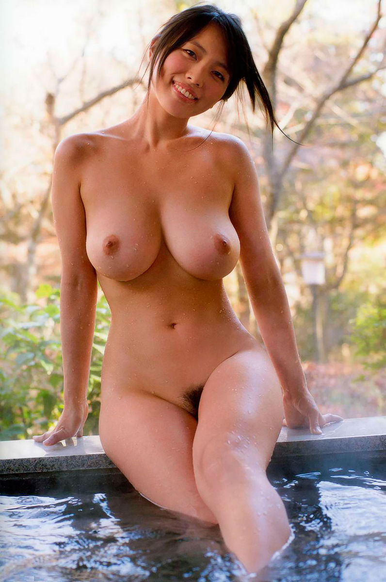 busty naked Asian