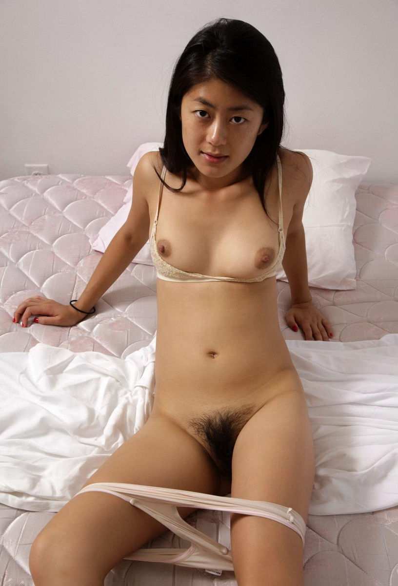 nude asian women with white hair